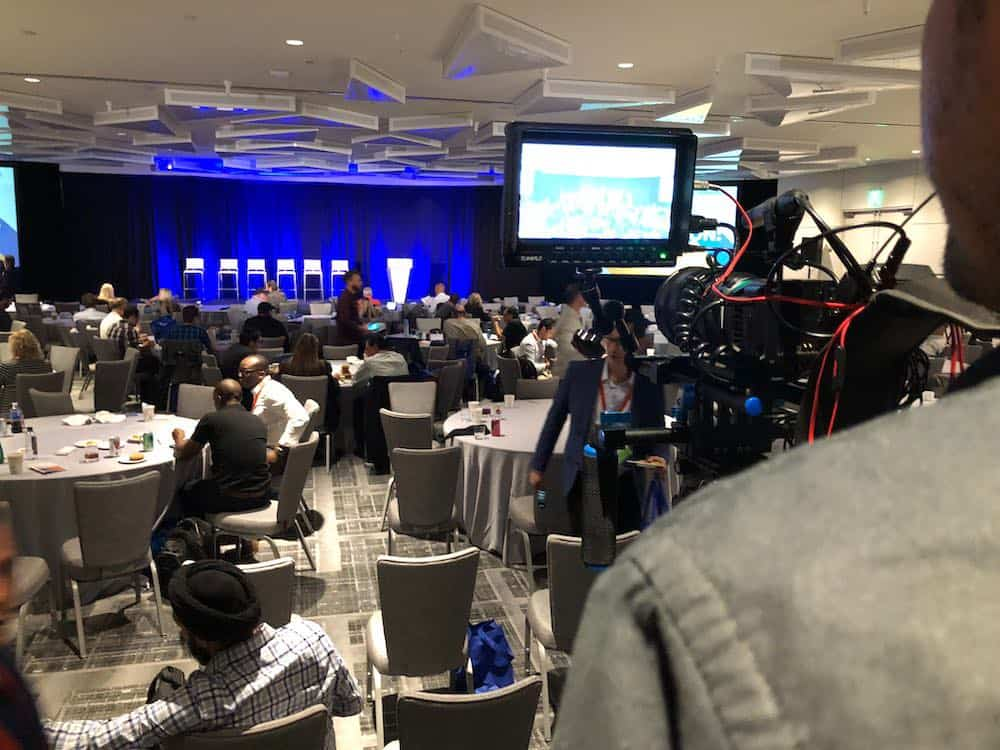 Event videography at corporate video production conference in Orlando