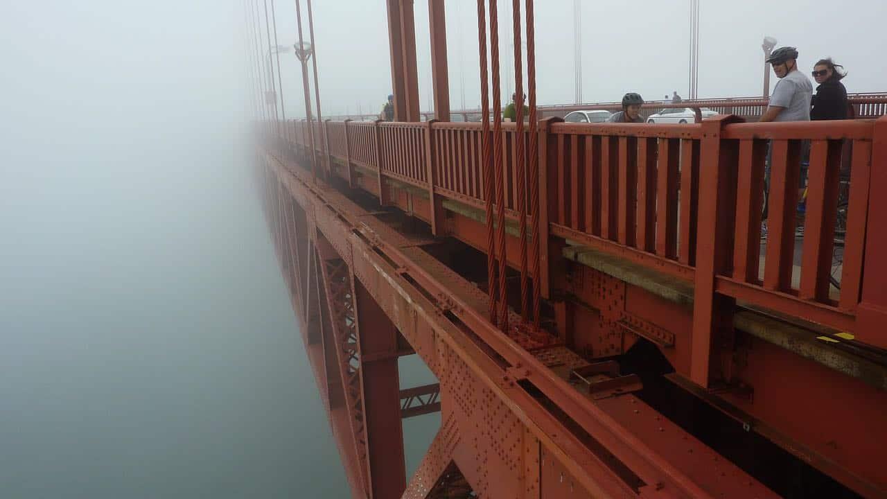 San Francisco video production company shooting the bridge